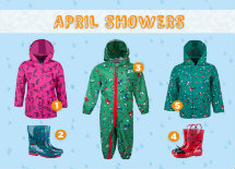 April Showers Kids Kit List