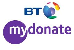 Charity Challenge: BT MyDonate