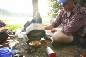 Camping - Eating Outdoors